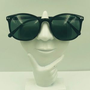 Black Oval Sunglasses Frames